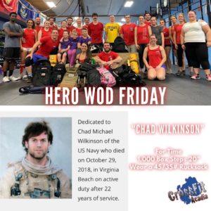 Friday Night HERO WOD!
