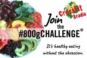 The #800g Challenge